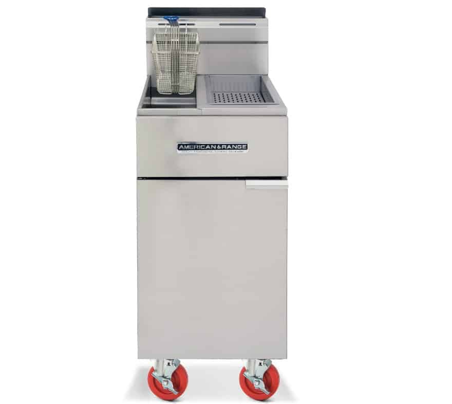 American Range Fryers with Built-in Dump Station