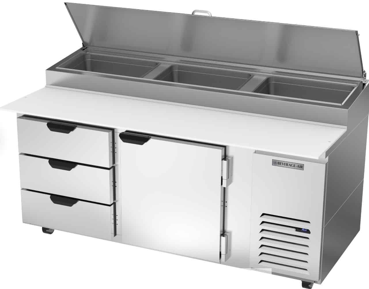 Beverage-Air Refrigerated Pizza Prep Table