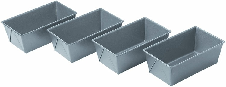 Chicago Metallic Commercial II Non-Stick Mini Loaf Pans