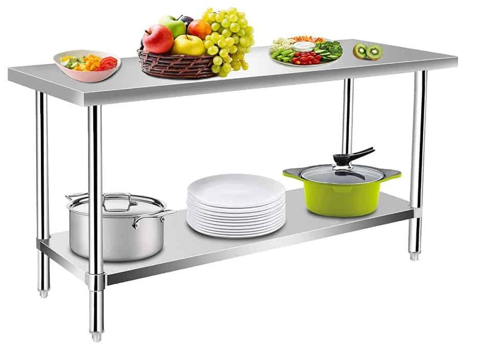 Commecrial Kitchen Prep & Work Table