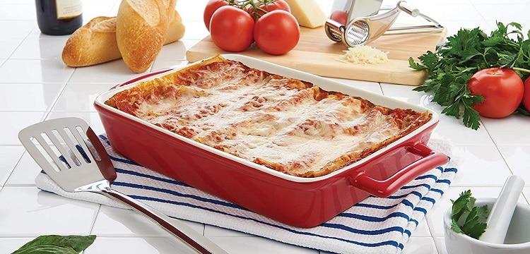Mrs. Anderson's Baking Oblong Lasagna Pan