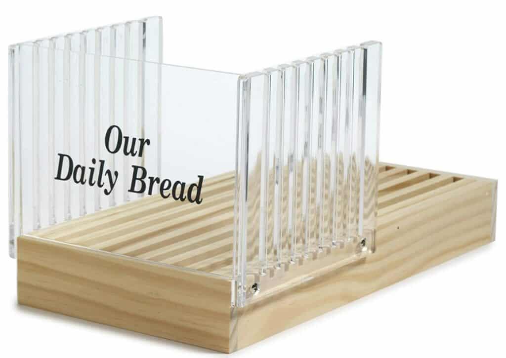 NoPro Bread Slicer with Crumb Catcher
