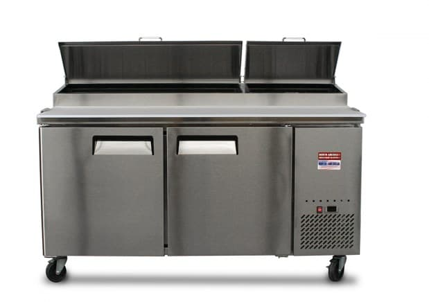 North American Refrigeration Pizza Prep Table