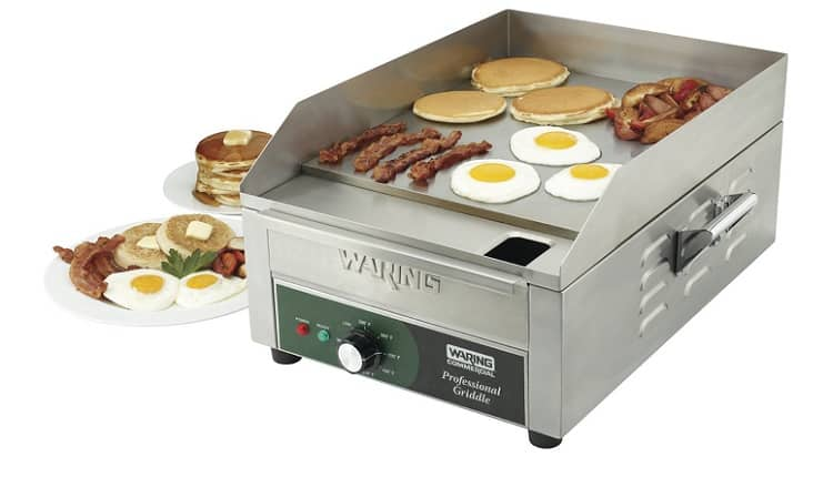 Waring Electric Commercial Countertop Griddle