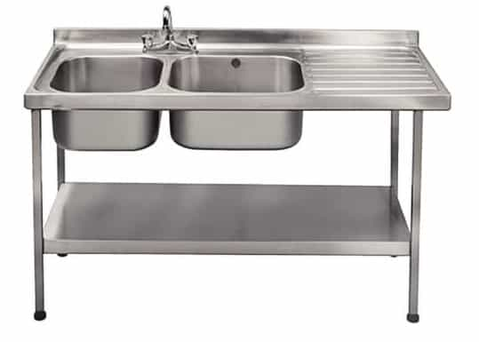 Franke Sissons Double Sink Right Hand Drainer