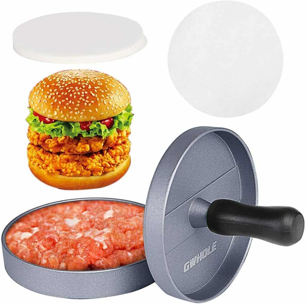 GWHOLE Non-Stick Burger Press