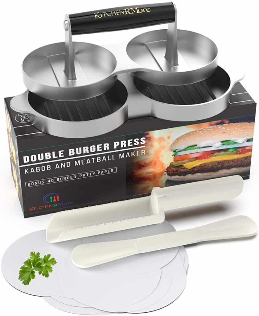 Kitchen RMore Double Burger Press