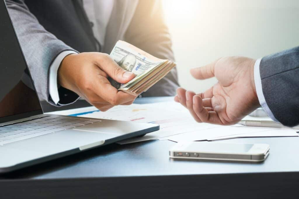 Taking out business loans