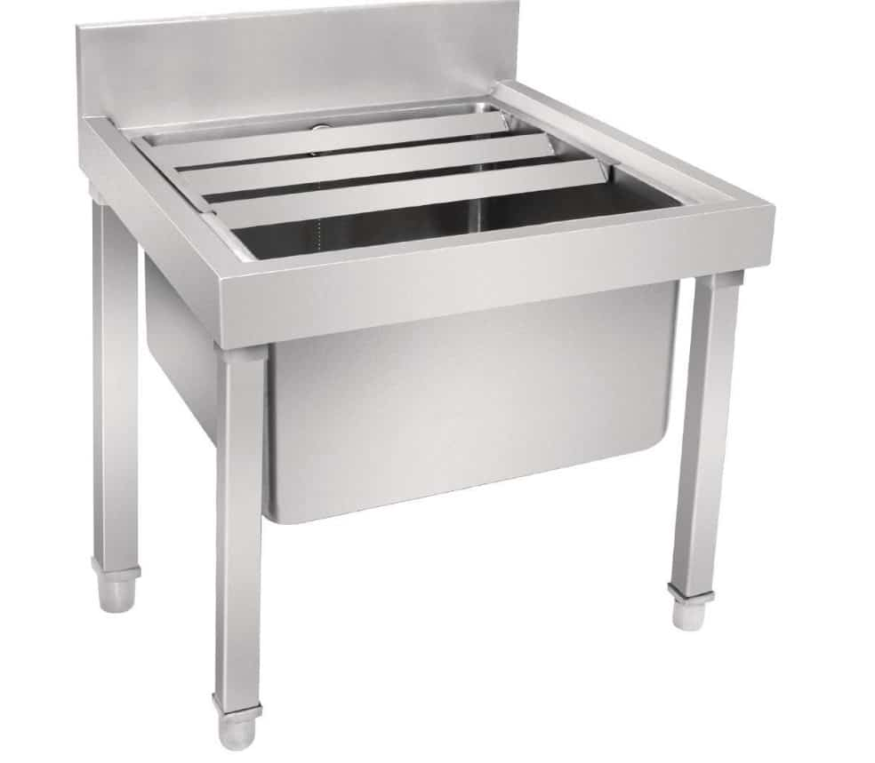 Vogue Stainless Steel Mop Sink