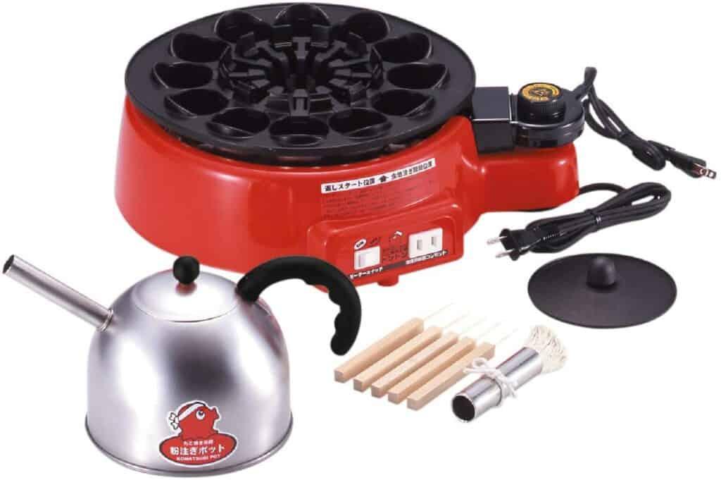automatic electric tekoyaki grill pan