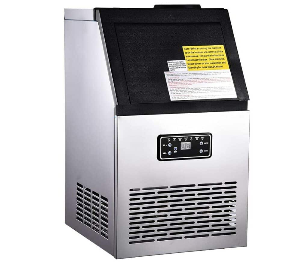 Air-cooled icemaker