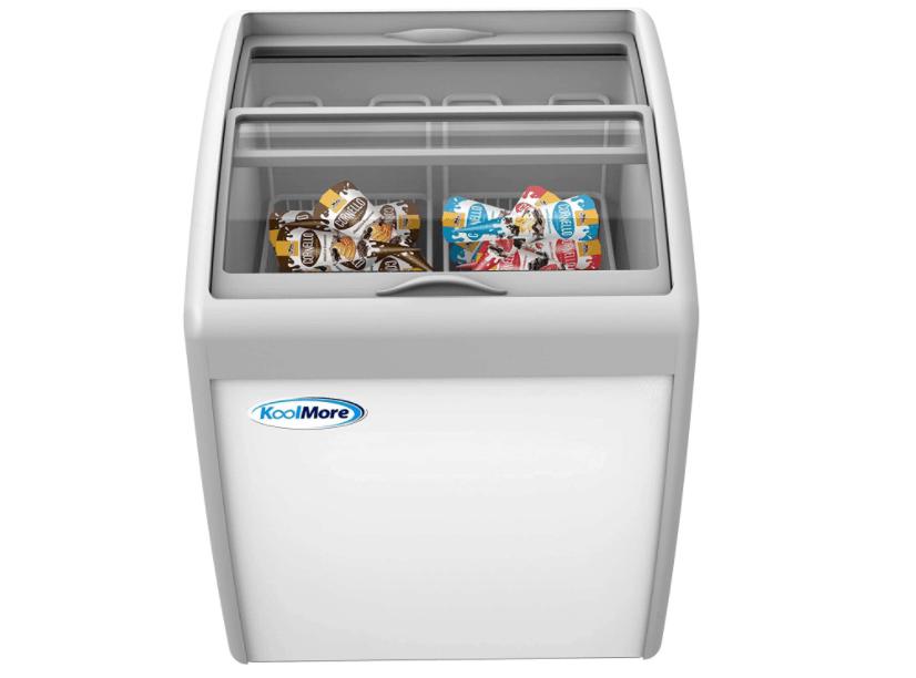 KoolMore Commercial Ice Cream Display Freezer