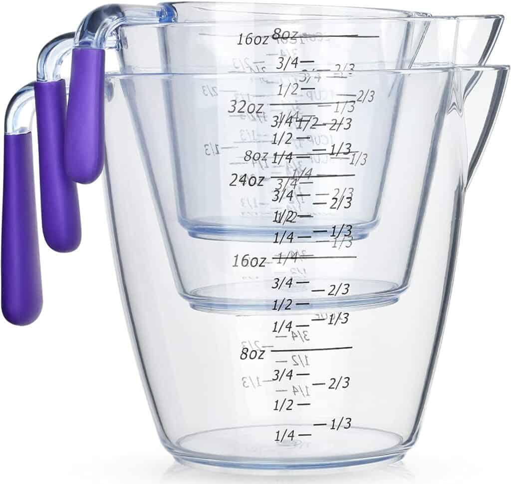 Measuring jugs