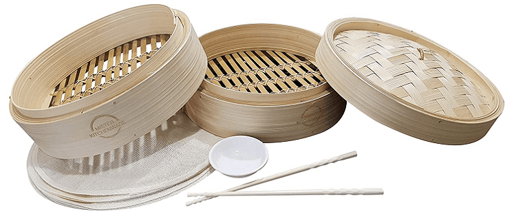 Mister Kitchenware 10-inch Bamboo Steamer