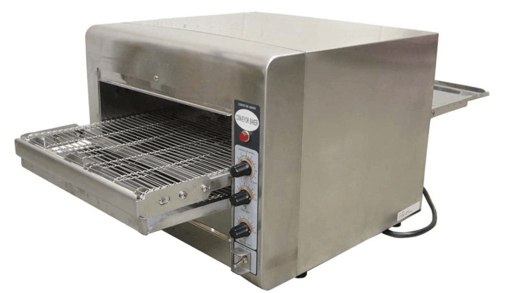 Omcan Conveyor Commercial Restaurant Countertop Pizza Oven