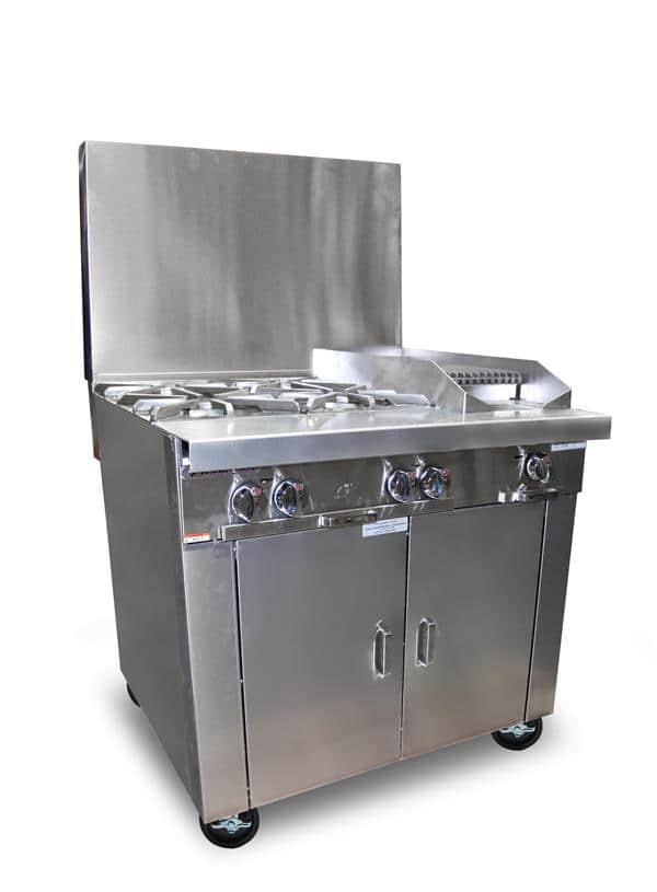 Platinum Sectional Gas Grill P36A-BCC