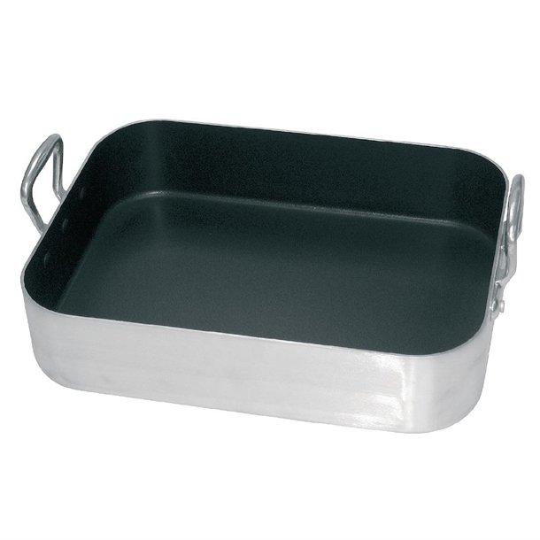 Vogue Aluminium Non-Stick Roasting Pan