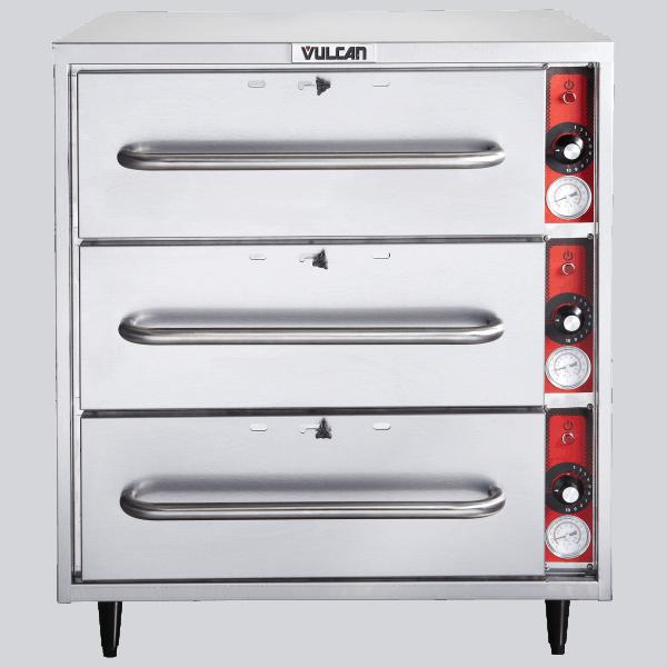 Vulcan 3 Drawer Commercial Food Warmer