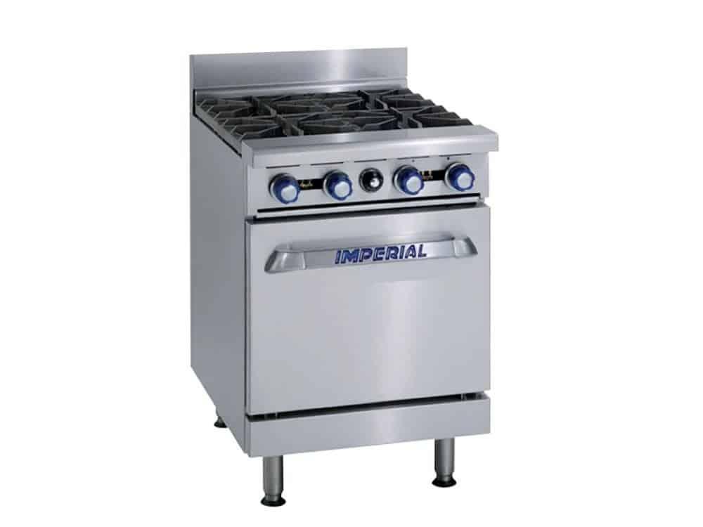 Imperial IR-4 4 Burner Gas Oven Range
