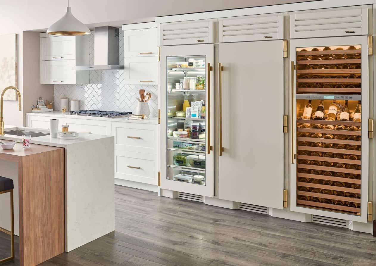 household refrigerator-freezers
